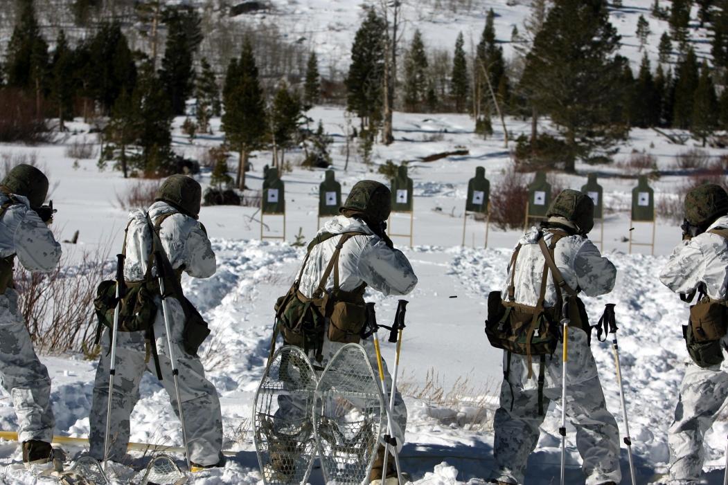 Usmc Snow Camouflage Uniform